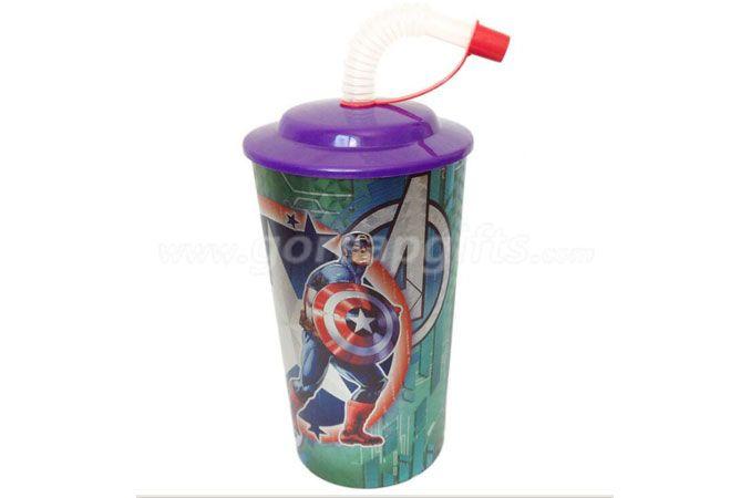 Ecofriendly PP plastic 3d lenticuar 20oz plastic cup manufactuer