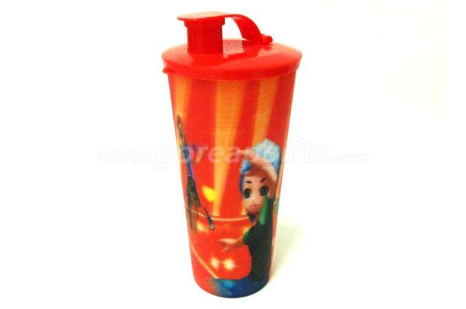 Custom Printing Promotional 3D Lenticular Hard Plastic 32OZ PP Cup
