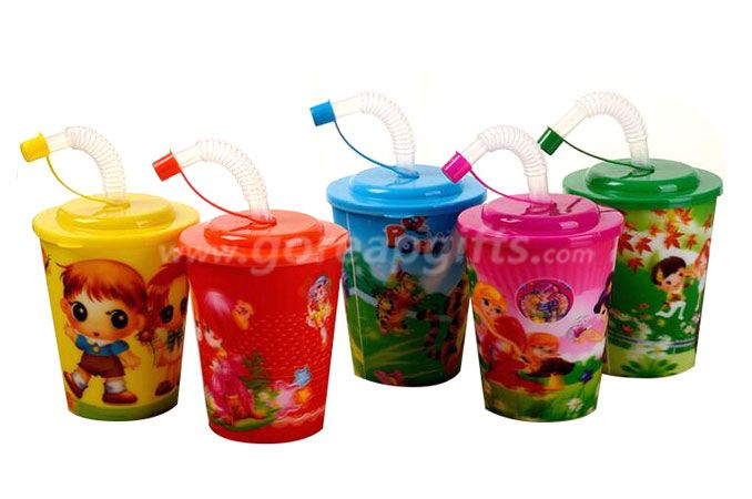 Wholesale BPA Free Plastic 3D Lenticular Cup