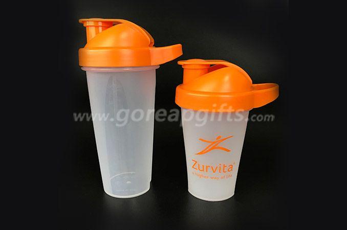 BPA freecustom logo PP plastic shaker water bottl manufacturer