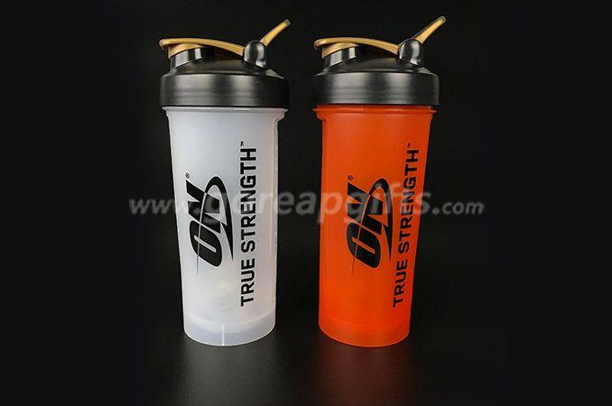 BPA free custom logo 1000ml PP plastic  shaker  water bottl  manufacturer