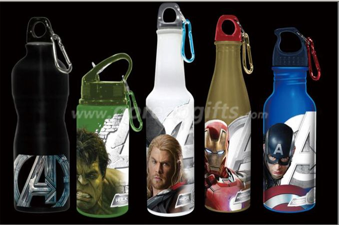 Promotional gifts color changing sports aluminum water bottle