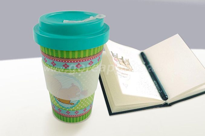 Full bamboo coffee mug with bamboo lid bamboo lid coffee mugs