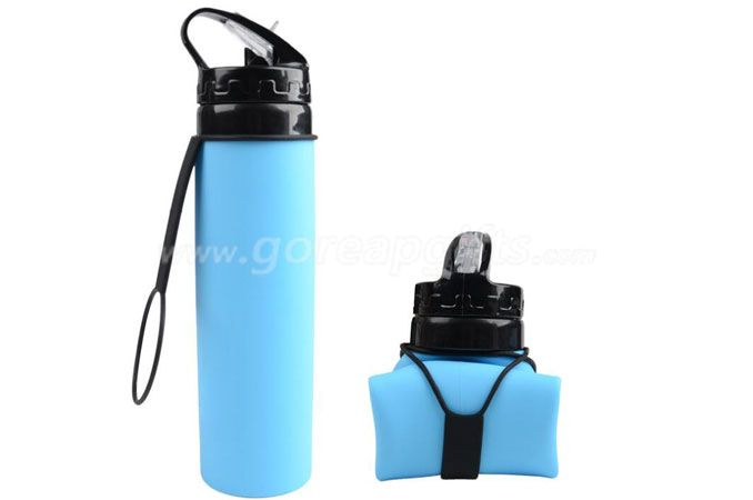 2017 Hot Sale Foldable Silicone Outdoor Sports Bottle