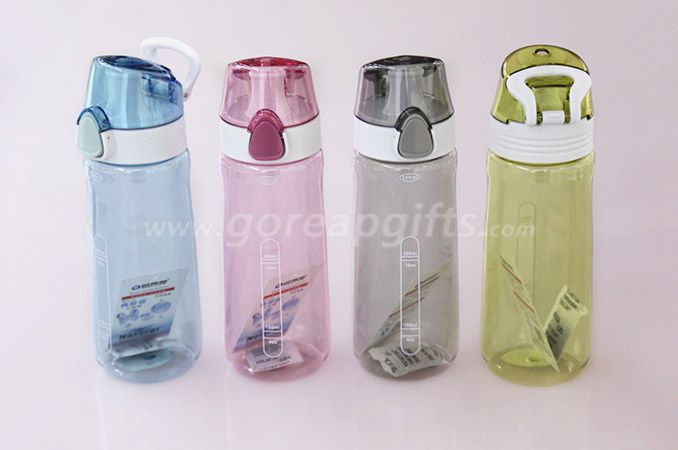 Factory Foodgrade FDA approved sports travel plastic water bottle