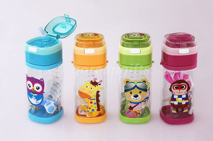 Factory produce Foodgrade FDA approved sports travel plastic water bottle