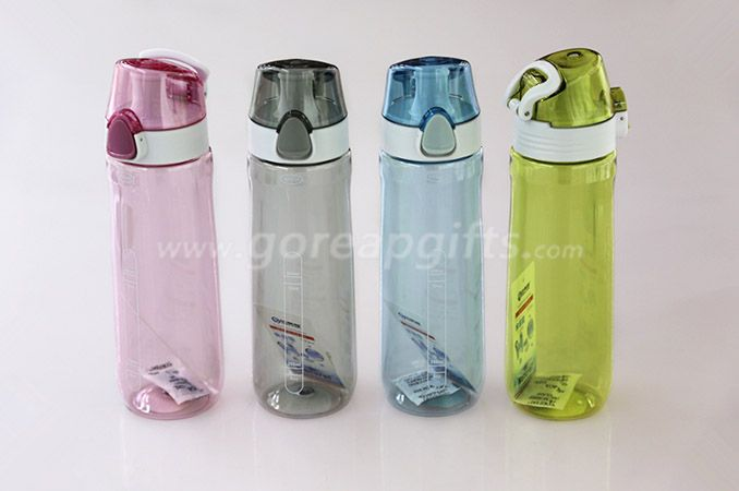 Factory produce Foodgrade FDA approved sports travel plastic water bottles