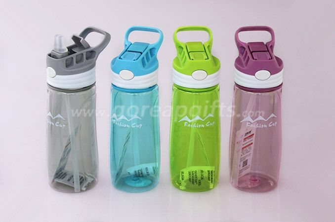 Factory produce600ml  Foodgrade FDA approved sports travel plastic water bottles