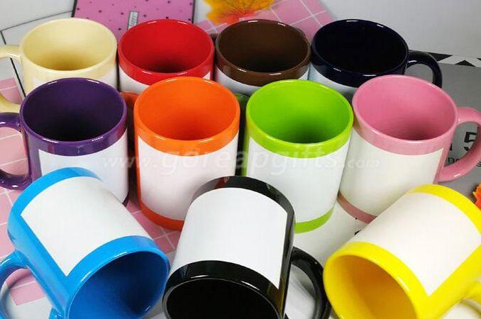 11OZ  glowing ceramic coffee mugs
