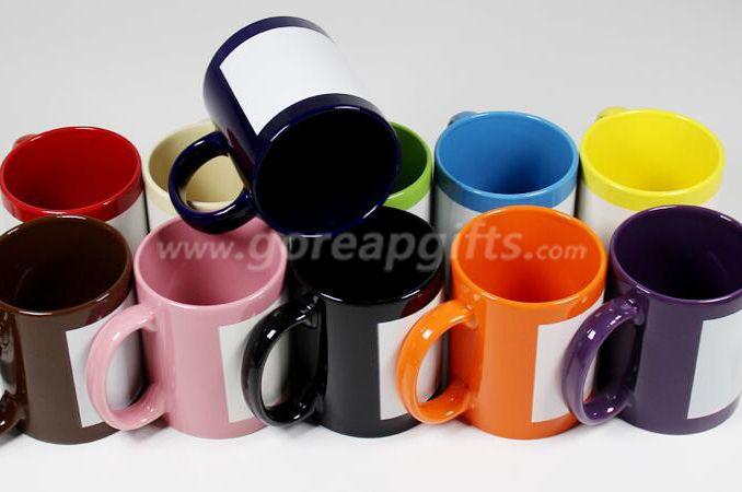 FDA approved 11OZ glowing ceramic coffee mug