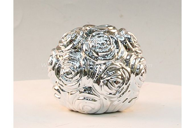 Silver balls Ceramic Electroplating Piggy Bank