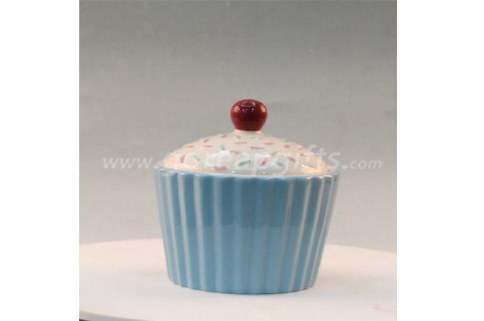 CEmbossed Flower Design Ceramic Jar Wholesale kitchenware