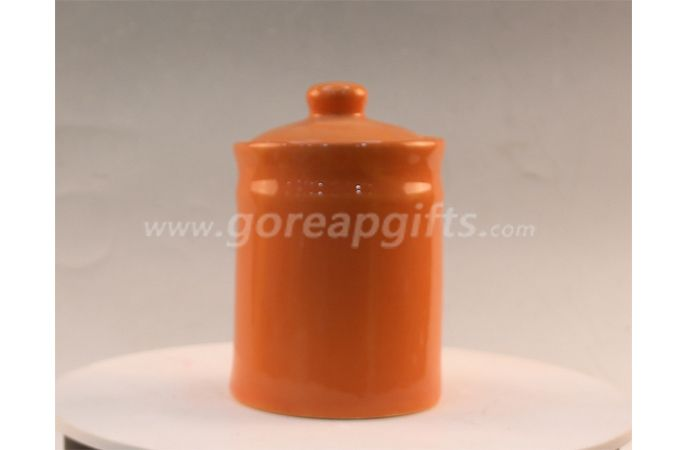 High quality ceramic soup jar kitchenware