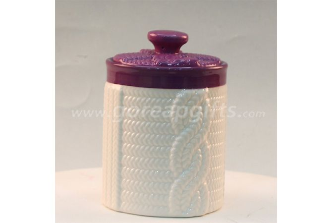 Kitchenware ceramic soup Jar with customized design