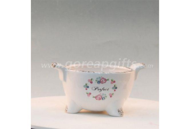 Home decoration modern ceramic flower vase and pot high quality