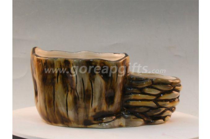 Ancient Mariner design ceramic flower vase matt glaze flower pot for Home&Gaardens