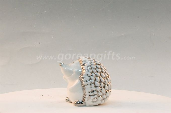 Hedgrehog home decoration ceramic ware