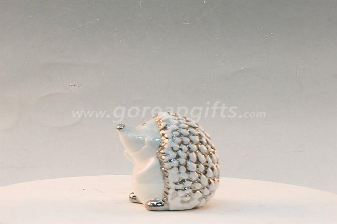 Hedgrehog home decoration ceramic ware