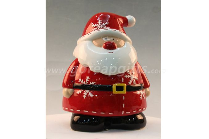 Christmas Gifts Santa Claus home deocration ceramic ware