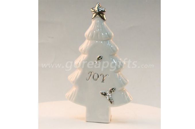 Christmas tree home decoration ceramic ware