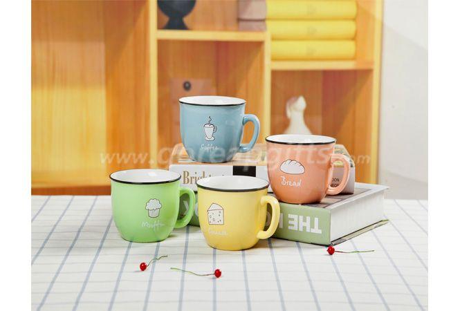 high quality promotional imitation enamel 8oz espresso mugs