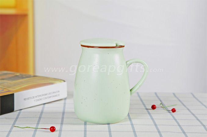 Colorful imitated Enamel yogurt  mug made of Ceramic, creative Advertising cup