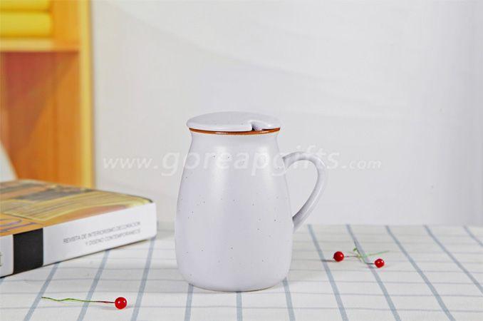Factory Colorful imitated Enamel yogurt  mug made of Ceramic, creative Advertising mug