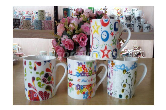11OZ classic decal ceramic mug coffee mugs