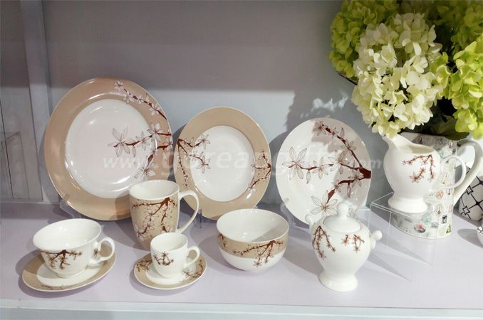 china factory wholesale custom dinnerware ceramic dinner set