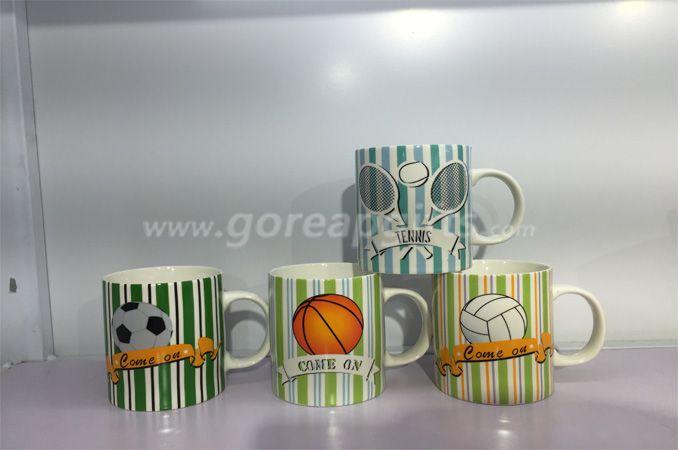 11OZ classic ceramic coffee mug with customized design