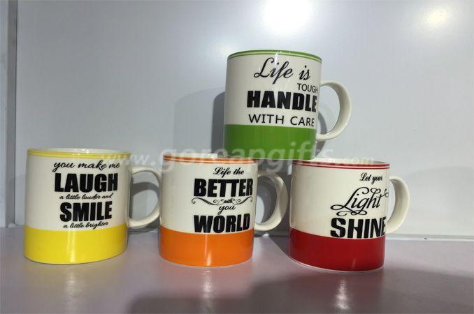 11OZ classic ceramic coffee mug decal ceramic mug