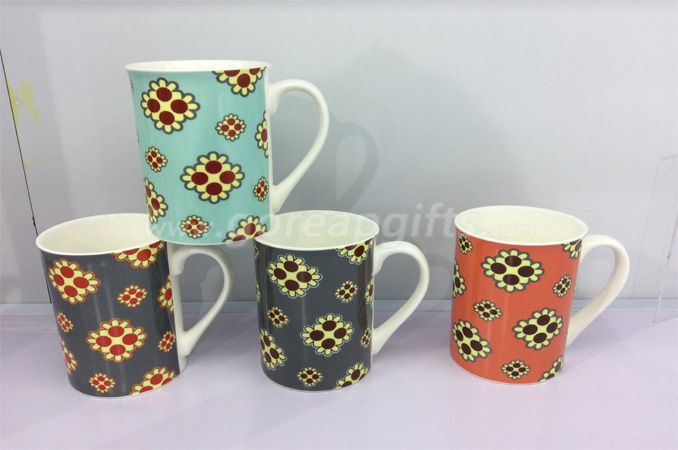 11OZ classic cereamic coffee mugs ,decal mugs  ,water milk mugss