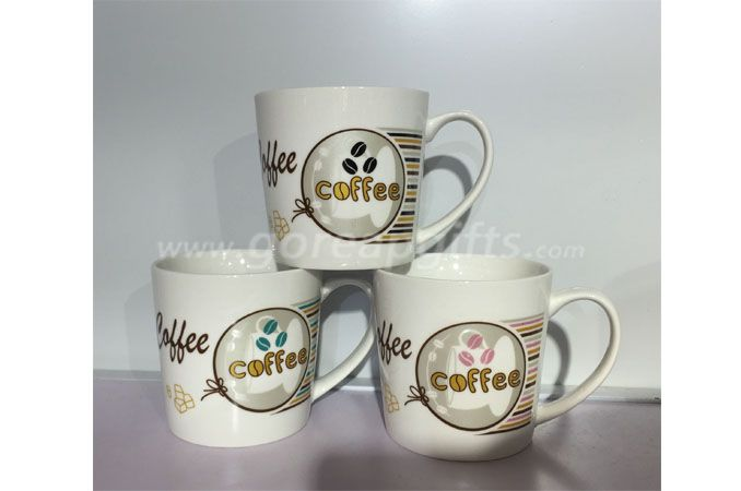 10OZ Vshape ceramic coffee mugs