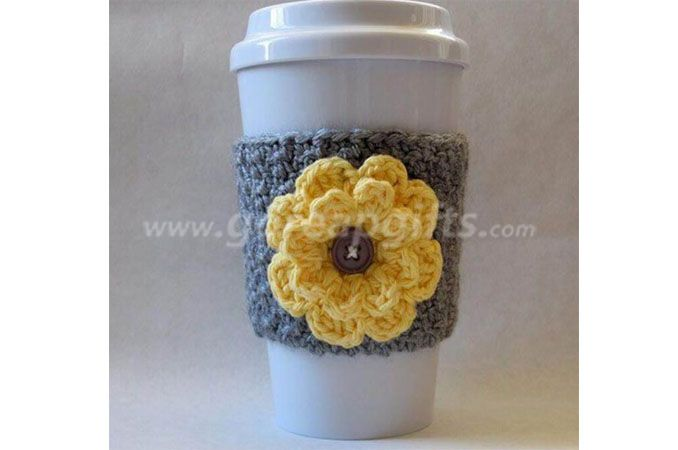 16OZ Ceramic tumbler with silicone lid and knitted sleeve