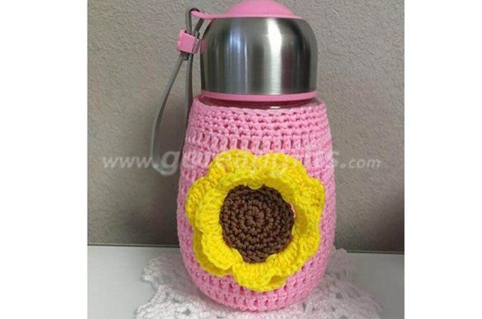 New Fashion Customize Knit Crochet glass bottle  Cozy