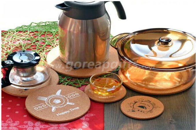 Natural Wood Souvenir Mug Coaster
