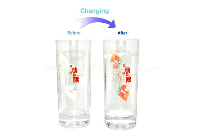 New Products Temperature Cold Color Changing Beer  Glass Cup